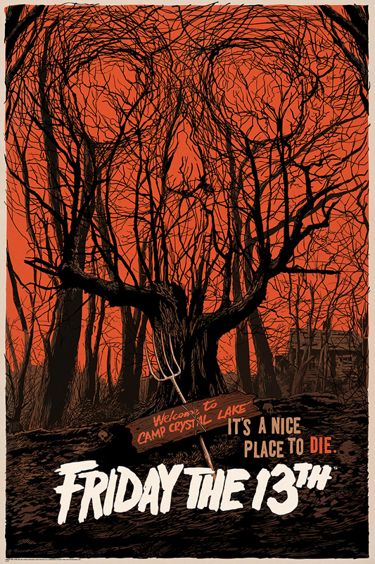 Amazoncom friday the 13th movie posters