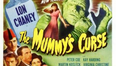 Проклятие мумии. Постеры