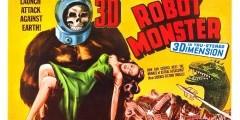 Робот-монстр. Постеры