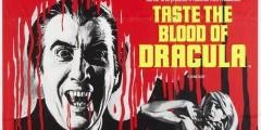 Вкус крови Дракулы. Постеры