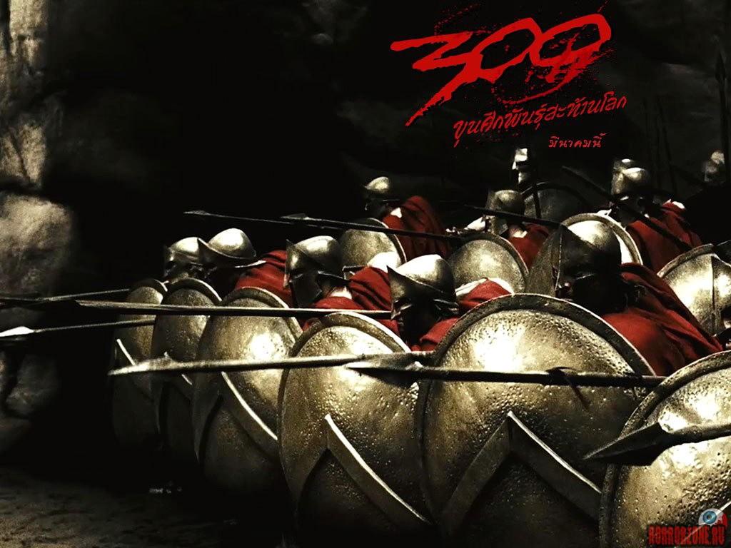 300 спартанцев. Обои