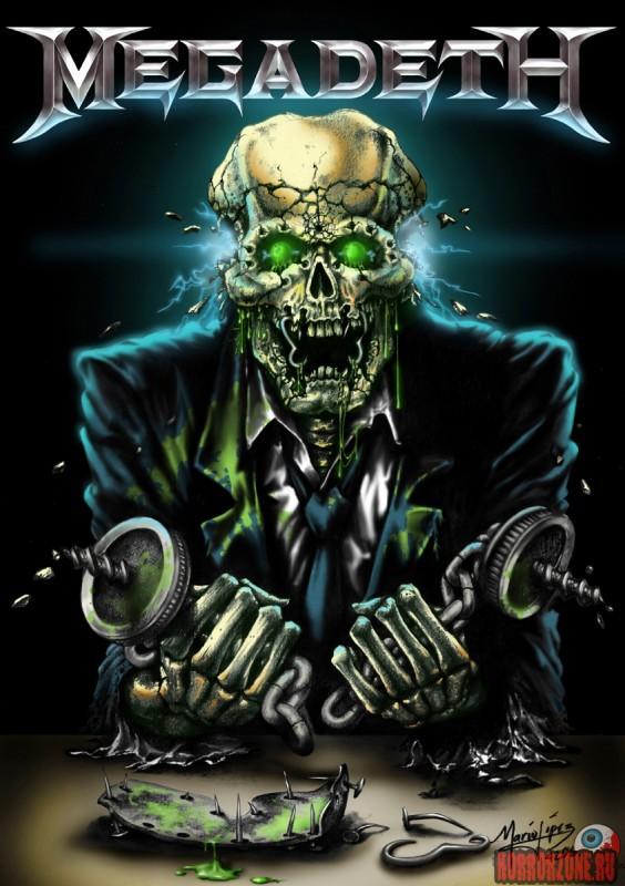 Megadeth все альбомы скачать торрент