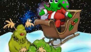 И пришел Santa Cthulhu, пожелания привез!