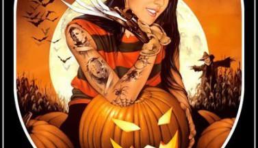 """Old Story""- декор для Хэллоуина и horror антуража"