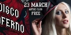 DISCO INFERNO ♠ вход FREE | 23 марта | Antre Club