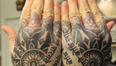 Подборка хоррор-татуировок: «Психо», «Сияние», «Чужой»