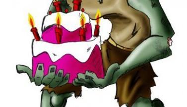 Happy Zombie Birthday