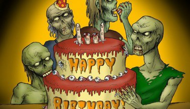 Happy Zombie Birthday #4