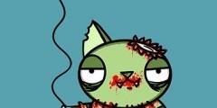 Happy Birthday Zombie Kitty