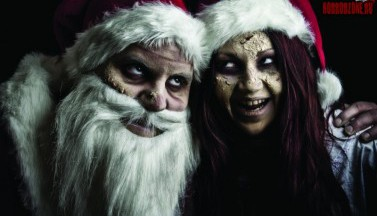 Зомби Дед Мороз и снегурочка