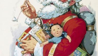 Дед Мороз и мальчик