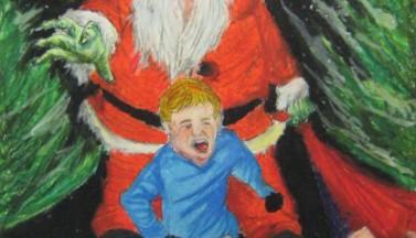 Grenn Evil Santa