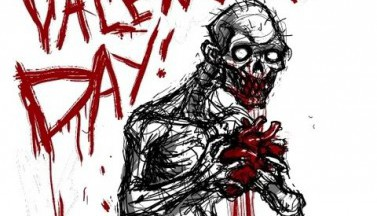 Happy Zombie Valentine's Day