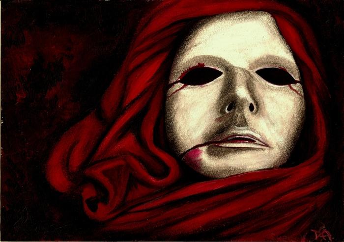 Эдгар по маска красной смерти