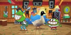 """Зеленые утки против Крокозябр или трэш мусорный утиный мир рецензия на мультсериал """"Хлебоутки"""""""