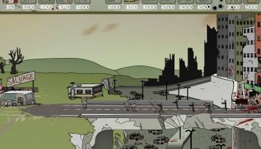 Стоянка трейлеров зомби