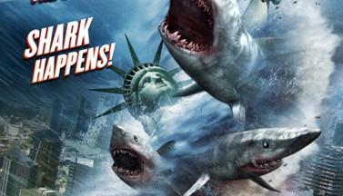 Акулий торнадо 2: Вторая волна. Постеры