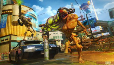 Sunset Overdrive. Скриншоты