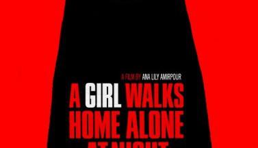 Девушка возвращается одна ночью домой. Постеры