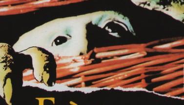 Существо в корзине. Постеры