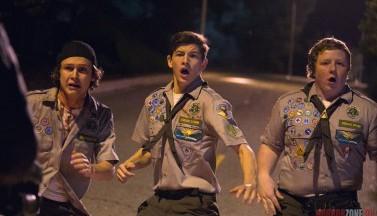 Скауты против зомби. Кадры