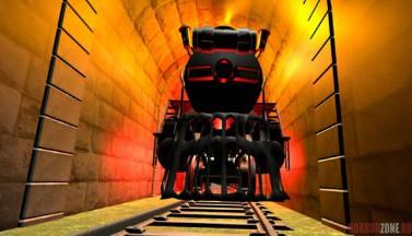Train Runner VR. Скриншоты