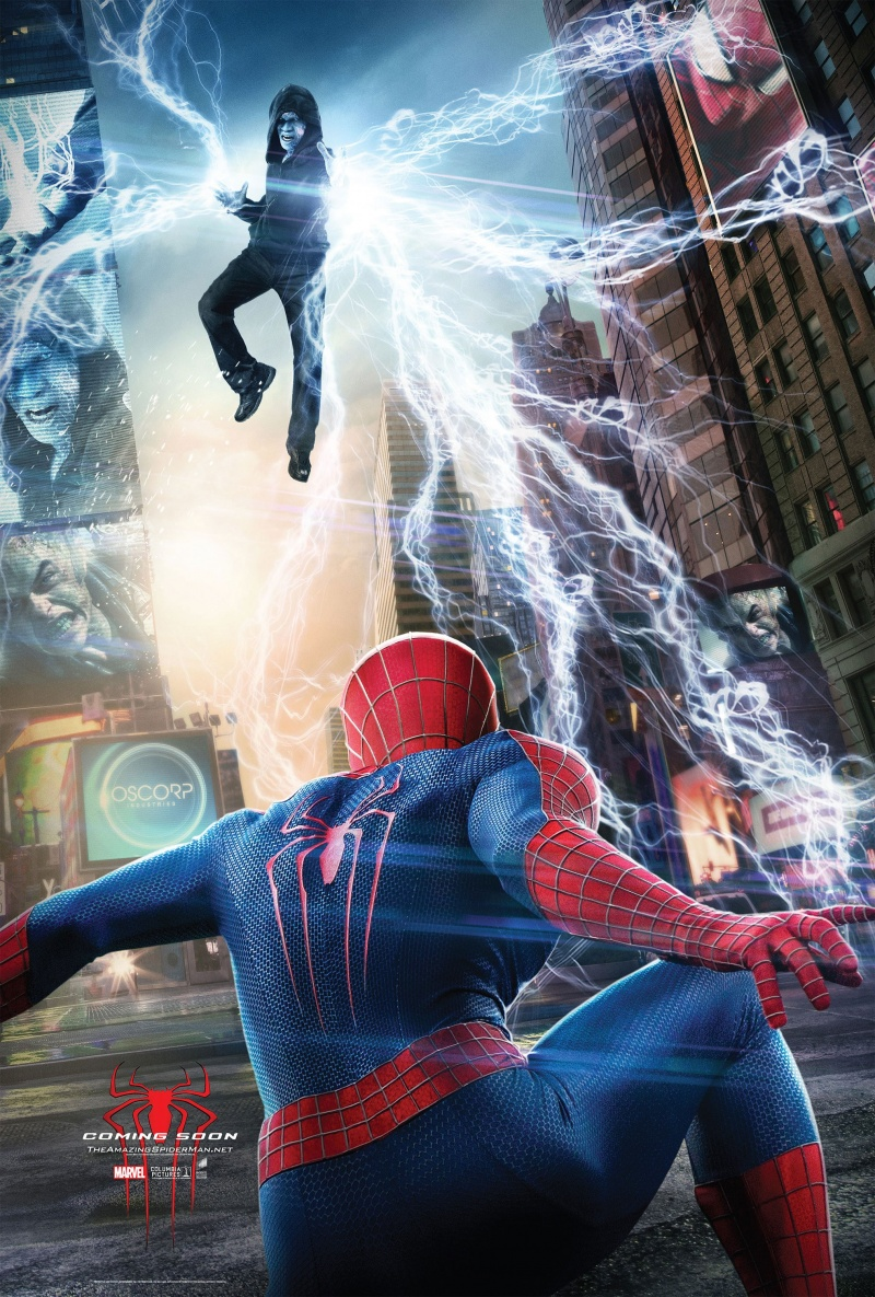 Человек паук высокое напряжение