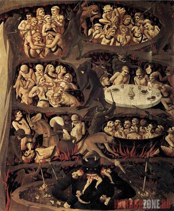 Иллюстрация в Hortus deliciarum. Автор неизвестен