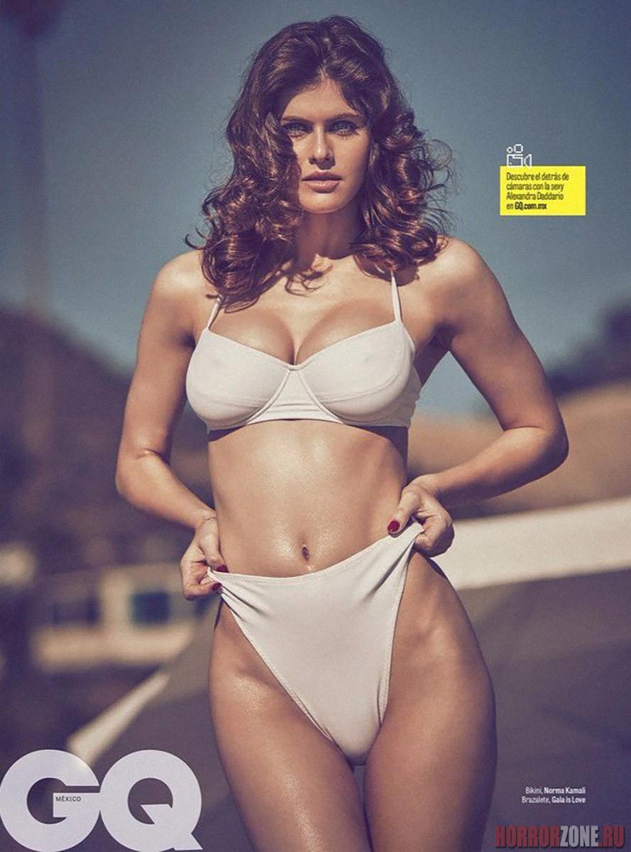 Александра Даддарио в журнале GQ, фото и видео