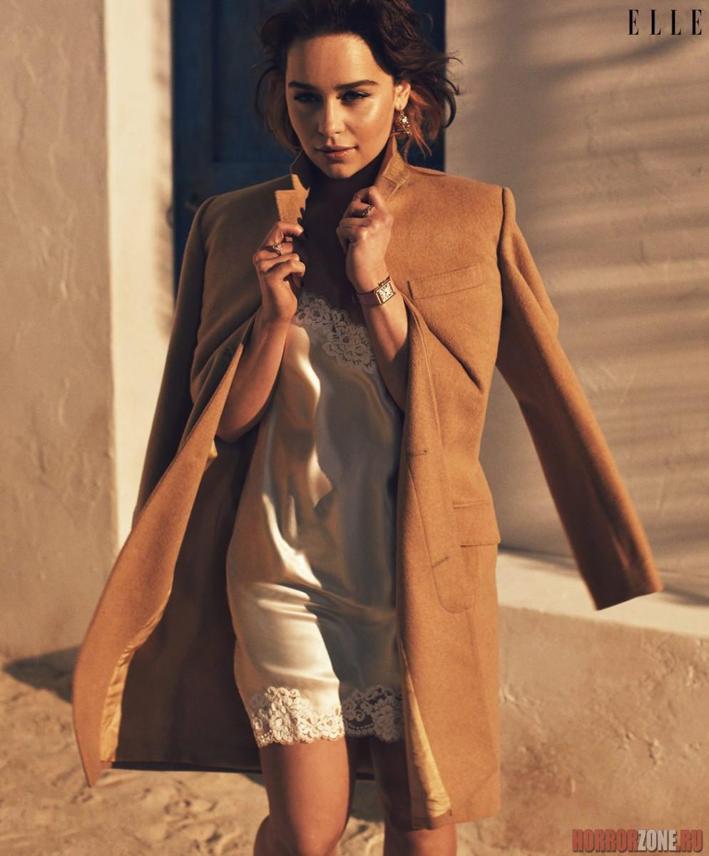 ЭМИЛИЯ КЛАРК, фото из журнала ELLE