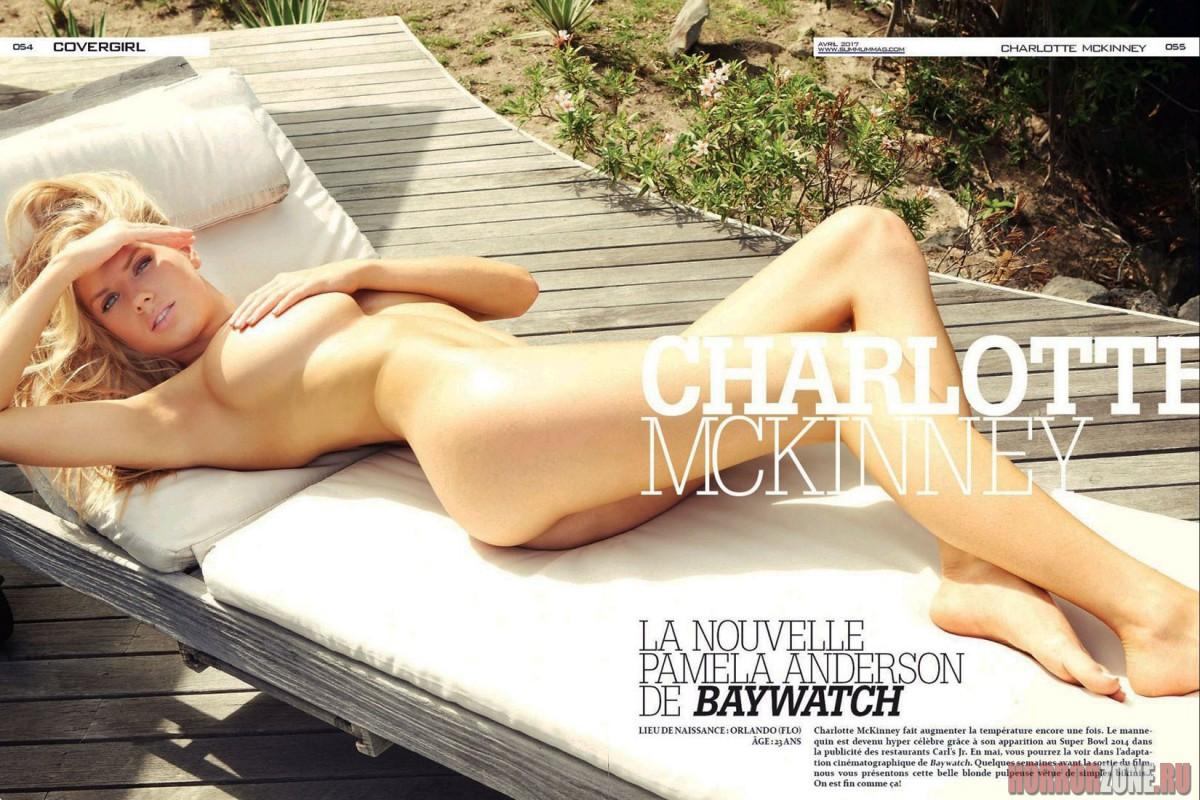 Шарлотта МакКинни, эротические фото
