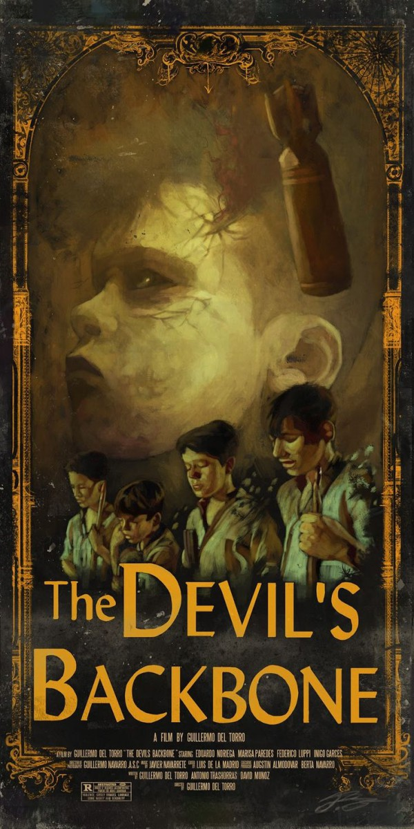 a review of the devils backbone a movie by guillermo del toro Subscribe: praise and passion from mark kermode as he introduces the devil's backbone, by guillermo del toro.