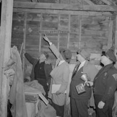 Ноябрь 1957-го, дом Гина