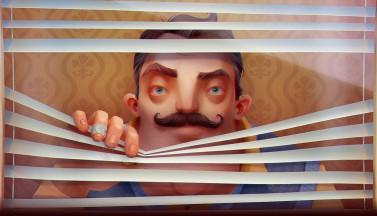 Яркий психодел в хэллоуинском трейлере игры Hello Neighbor