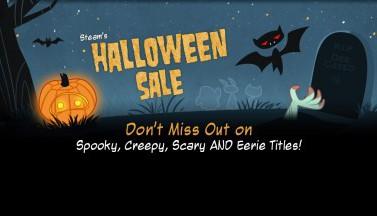 В Steam началась Хэллоуинская распродажа!