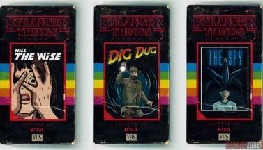 """Все эпизоды """"Очень странных дел 2"""" на крутых VHS-обложках!"""