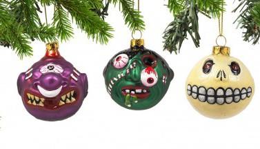 Новые хоррор-игрушки для вашей ёлки!