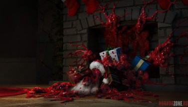 Рождественский кошмар - подборка жуткого арта