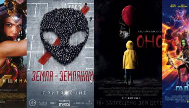 Самые кассовые фильмы 2017 года в прокате США, России и всего мира