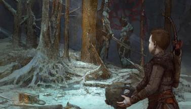 """""""God of War""""-2018: арт к текстовой игре для Facebook"""