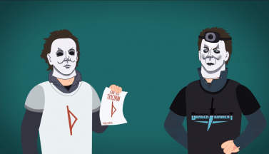 "Эволюция Майкла Майерса: 40 лет ""Хэллоуина"" за 3 минуты (ВИДЕО)"