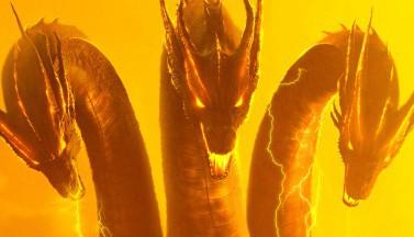 """3 величественных постера фильма """"Годзилла 2: Король монстров"""""""