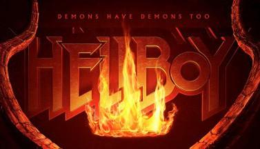 """Демонический постер нового """"Хеллбоя"""""""