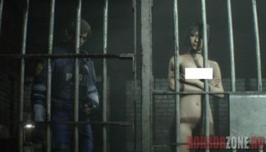 Трусы и сиськи - новые моды раздели Аду Вонг и Мистера Икс из Resident Evil 2