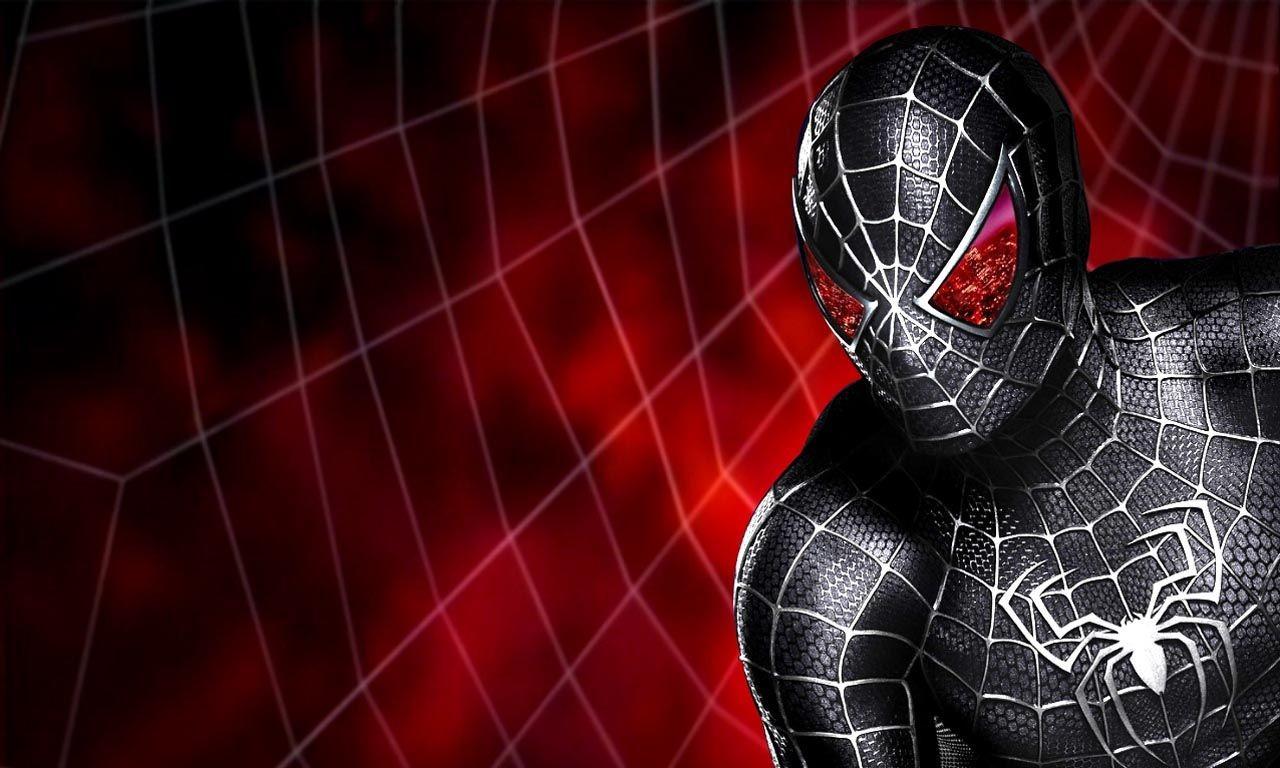 если картинки с красным и черным человеком пауком это время