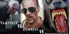 Вампиры, оборотни, зомби - кто круче?