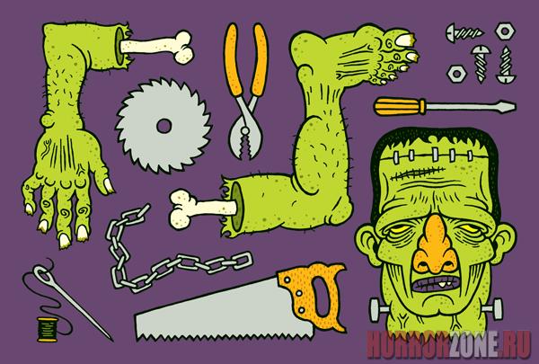 Анимационные, самая страшная открытка