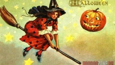 Хэллоуинская ведьма