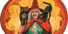 Ведьма в тыкве