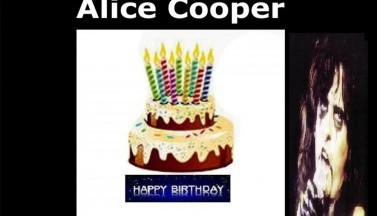 Your Birthday Present - Alice Cooper